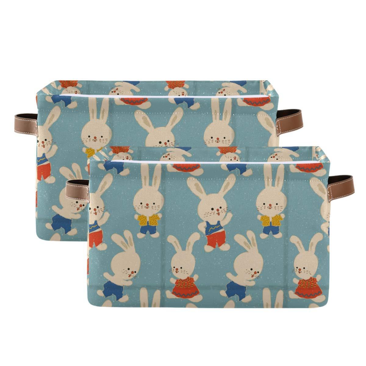 Kelekey Cartoon Nippon regular agency Cute Animal Rabbit Storage Large Oklahoma City Mall Basket Collapsi