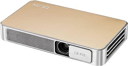 Vivitek Q3 Plus-GD Qumi Q3 Plus 500 Lumen HD 720p LED Ultra-Compact Portable Pocket DLP Projector with Android Operating System (Gold)