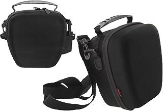 Navitech - Estuche Protector Rígido De EVA megro - Compatible con la Canon EOS Rebel T6 DSLR Camera