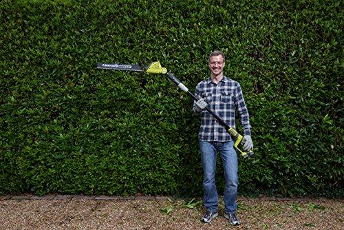 Ryobi ONE+ 18V RPT184520 Cordless Pole Hedge Trimmer, 45cm Blade (with 1x2.0Ah Battery)