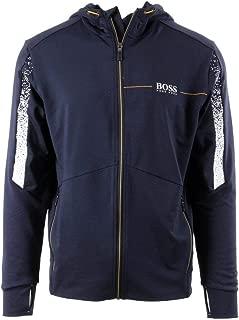 Hugo Boss Mens Sarrotech Track Jacket Navy 50392756 410