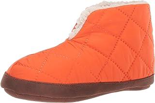 Dearfoams Women's Original Nylon Warm Up Bootie womens Slipper