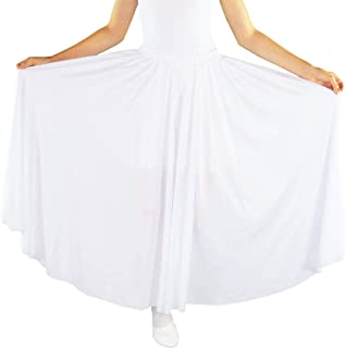 Girls Long Full Circle Dance Skirt