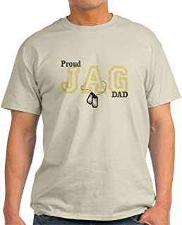 Proud Jag Dad 100% Cotton T-Shirt, White