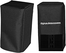 DigitalDeckCovers Dust Cover for XBox Series X (Vertical) Gaming System Protector [Antistatic, Water Resistant, Premium Fa...