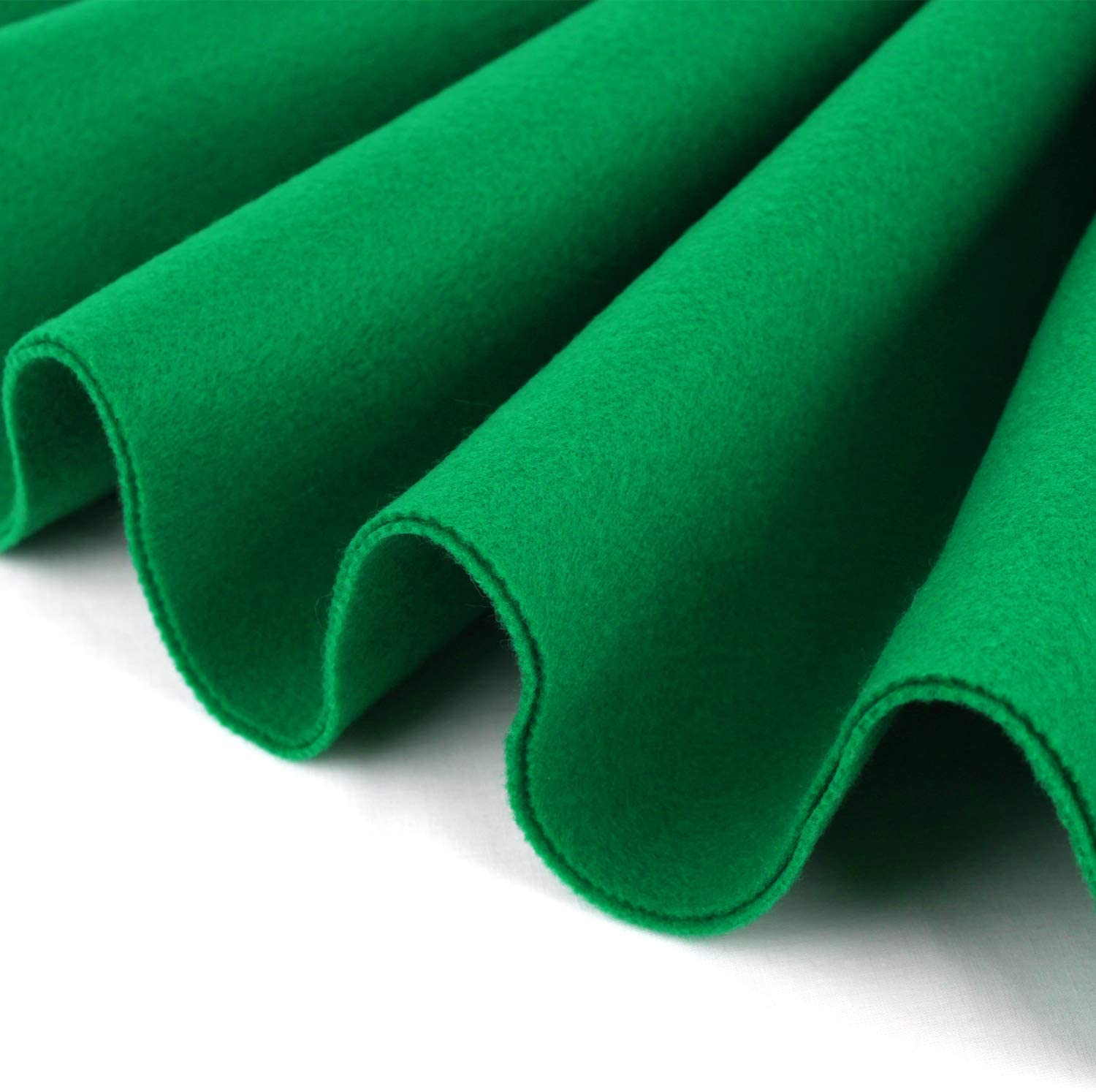 72 Inch Wide 1.5mm Thick Forest Green, 1 Yard DIY Arts /& Crafts Cushion and Padding Acrylic Felt Fabric Sewing Barcelonetta