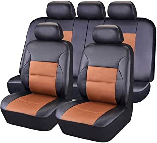 compatibili con sedili con airbag con Fori per i poggiatesta e bracciolo Laterale Articolo K78 Coprisedili Anteriori Freelander Versione 1997-2006 I