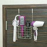 Installation rapide et facile, sans matériel requis - convient aux portes de la norme 4cm (40mm) Excellent pour la tenue des produits de nettoyage, produits de bain et cuisine et autres accessoires divers Excellente solution pour votre salle de bains...