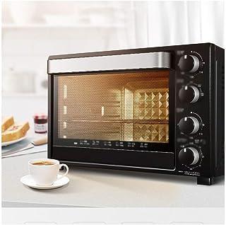 LYQ Horno eléctrico y Parrilla para el hogar Mini Horno con Parrilla,hornos tostadores de Calentamiento rápido Funciones deCocina,hornos de Cocina