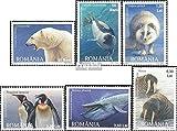 Prophila Collection Rumania Michel.-No..: 6256-6261 (Completa.edición.) 2007 Fauna el Regiones Polares (Sellos para los coleccionistas) Los Animales acuáticos