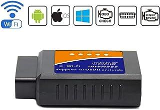 Friencity Car WIFI OBD 2 OBD2 OBD ii Scanner Adapter para iOS iPhone, Android y Windows, herramienta de lectura de códigos de diagnóstico de diagnóstico automático, Check Engine Light para el año 1996 y vehículos más nuevos