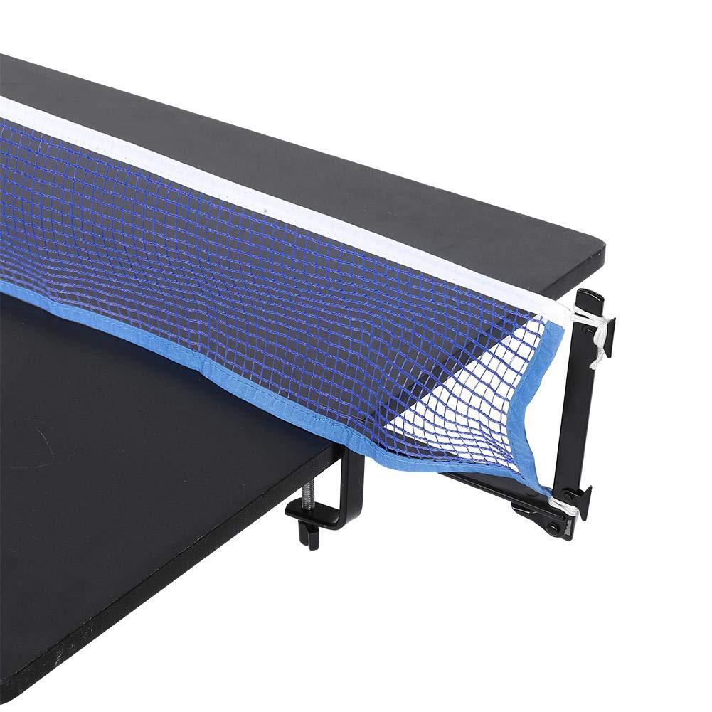 VGEBY1 Red de Tenis de Mesa, Red de Tenis de Mesa portátil con Abrazadera de Metal, Red de Ping Pong Red de Tenis de Mesa Plegable, Red de Ping-Pong Ajustable y Ajustable: