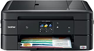 Brother MFC-J880DW All-in-One Color Inkjet Printer, Compact & Easy to Connect, Wireless, Automatic Duplex Printing, Amazon Dash Replenishment Ready