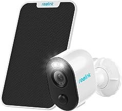 Reolink Batterij Buiten Veiligheidscamera met Spots, Draad-Vrije Zonne-Energie Aangedreven WLAN IP-camera, 1080p HD, Volle...