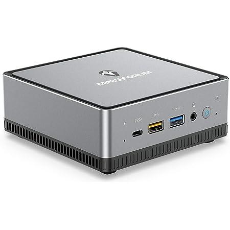 UM250 Mini PC AMD Ryzen 5 Pro 2500U Windows 10 Pro Mini Desktop Computer, Radeon Vega 8 Graphics,16GB DDR4 512GB SSD,HDMI2.0/DP/USB-C Triple 4K@60Hz Output,with 1000M LAN Intel WIFI6 AX200 BT5.1
