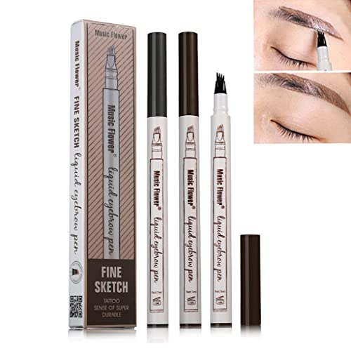 10993870ceb Patented Microblading Tattoo Eyebrow Ink Pen  Amazon.com