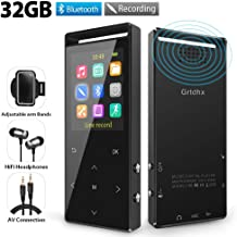 MP3 Player, 32GB MP3 Players with Bluetooth, Hi-Fi Lossless Sound Music Player with FM..