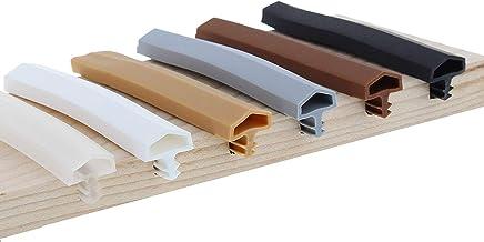 ToniTec deurdichting afdichtprofiel voor houten deur kozijnafdichting 12 mm M 680 25m bruin