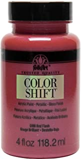 FolkArt Color Shift Acrylic Paint in Assorted Colors (4 oz), 5186 Red Flash