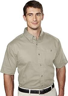 Men's 6 oz 100% Cotton Twill Shirt - 808 Director