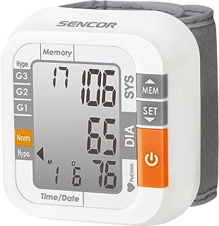 Sencor SBD 1470 Muñeca - Tensiómetro (AAA, LCD, 31 x 44 mm, 68 mm, 75 mm, 31 mm)