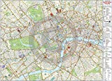 Central London Map - Maxi Laminated/ENCAPSULATED Poster