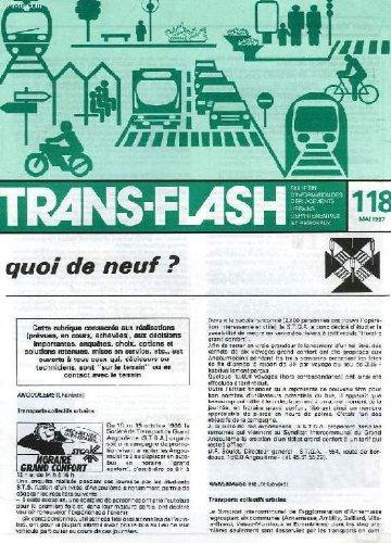 TRANS-FLASH, N° 118, MAI 1987