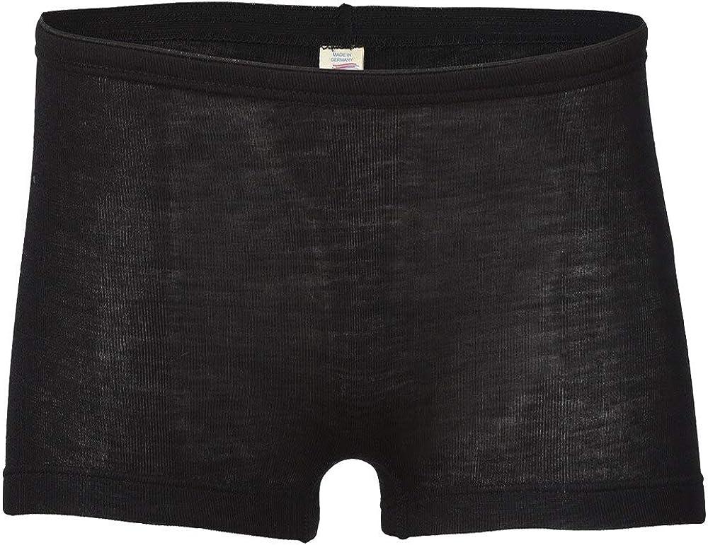 Women's Thermal Underwear: Moisture Wicking Merino Wool Silk Boy Shorts