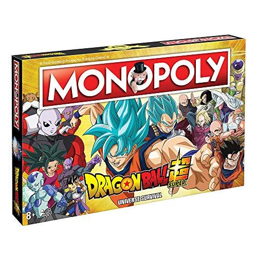 Dragon Ball Super Monopoly - Juego de Mesa