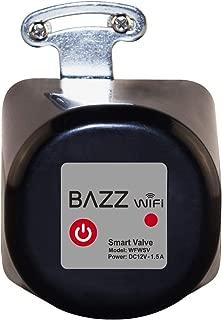 Bazz WFWSV Smart Wi-Fi Water Shut Valve, No Hub Required, Alexa, Google Home