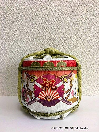 刀剣乱舞-ONLINE-次郎太刀の菰樽入り祝い酒 純米吟醸酒 300ml