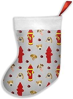 hdyefe, Calcetines de Navidad de color gris claro para niños