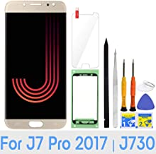 iFixmate LCD Screen Replacement for Samsung Galaxy J7 Pro (Gold) with Touch Digitizer Display Assembly for J730 2017 J730G J730F SM-J730F/DS J730FM/DSM J730G/DS J730GM/DS