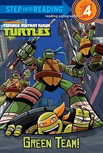 ninja turtle book level 1 - 7