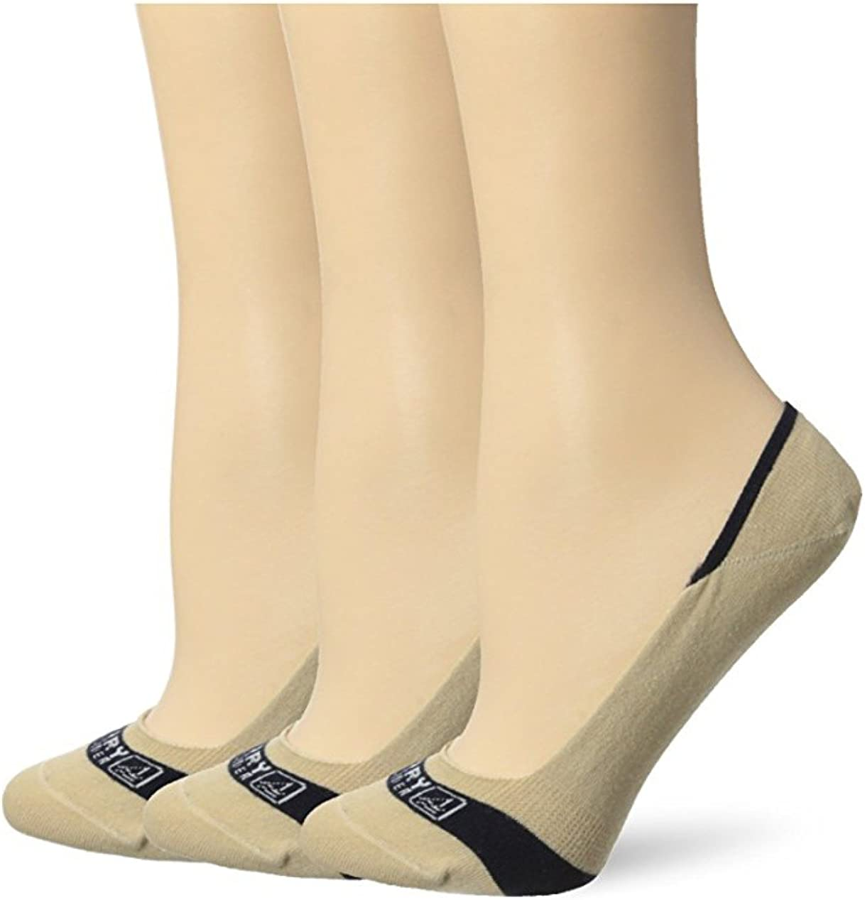 Sperry Women's Signature Invisible Liner Sock with a Helicase sock ring