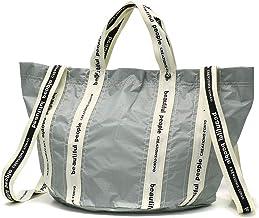 [ビューティフルピープル]beautiful people sail cloth logo tape shift bag S 2WAY トートバッグ 1025611938 1000611938 1045611932