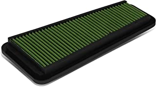 For Cruiser/Tundra SR5 Reusable & Washable Replacement High Flow Drop-in Air Filter (Green)