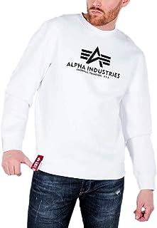 Alpha Industries Men's Sweatshirt Long Sleeve Casual Shirt