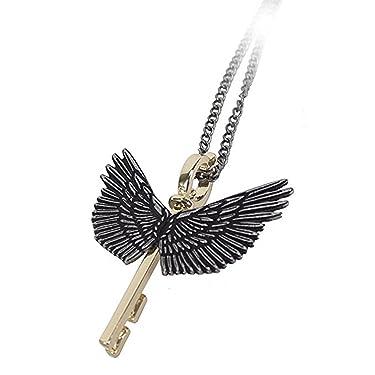 Bioworld Harry Potter Flying Key Necklace