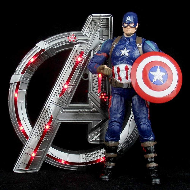 comprar mejor 18cm Iron Iron Iron Man Spider-Man Marvel Avengers Modelo, Avengers 4 Movable Doll Decoración para El Hogar, Cumpleaños Halloween B  ventas en linea