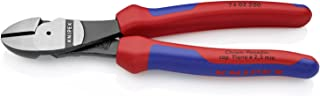 Knipex 7402200 8-Inch High Leverage Diagonal Cutters - Comfort Grip