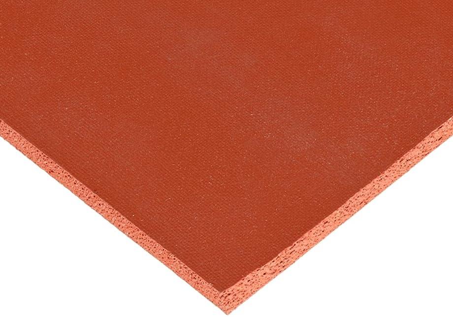 CS Hyde Silicone Sponge Rubber, Closed Cell, Commercial Grade, Medium Density, 0.25