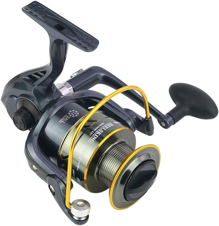 MD50010000 Series Fishing Reels 13BB Pesca Metal Casting Spinning reels Bait Spinning Wheel Fishing Reel Peche Moline