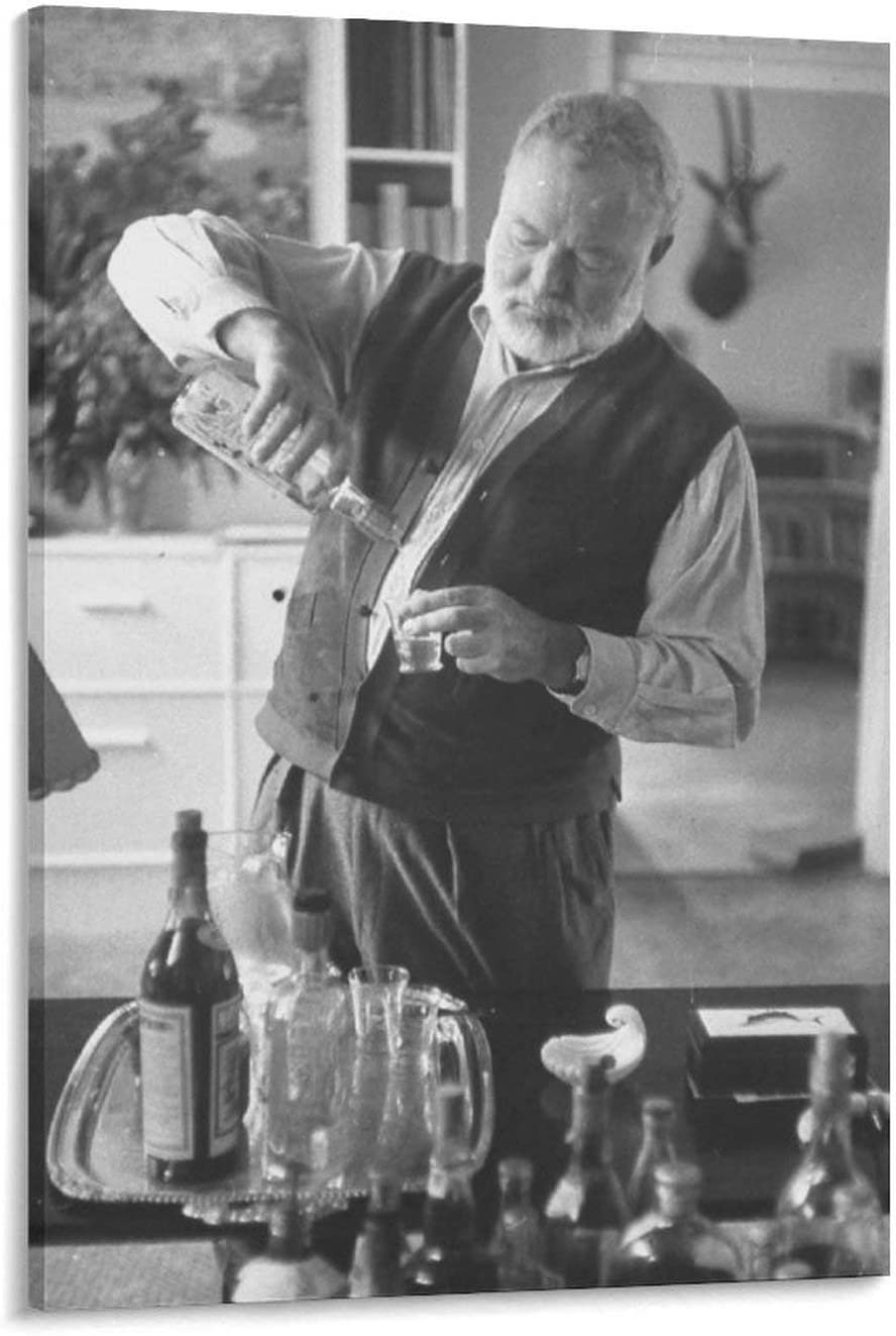 Max 64% OFF Ernest Hemingway in Cuba House Poster Art Wall Pos Picture Inexpensive Print