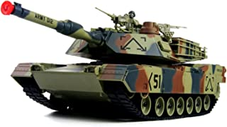Amazing Tech Depot M1A2 Abrams USA Battle Tank RC 16