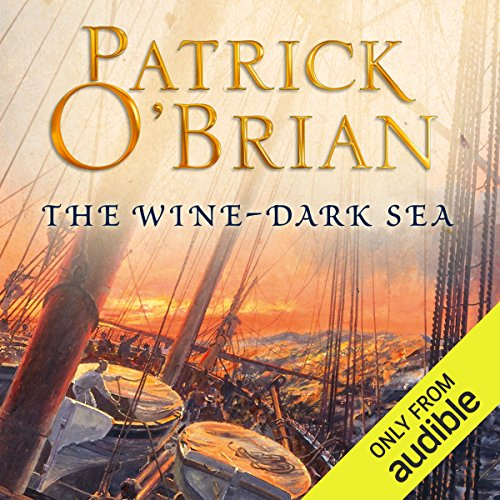 The Wine-Dark Sea                   By:                                                                                                                                 Patrick O'Brian                               Narrated by:                                                                                                                                 Ric Jerrom                      Length: 11 hrs and 49 mins     197 ratings     Overall 4.7