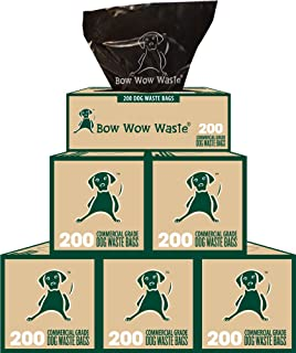 5 Roll Case Dog Waste Bags (1000 Bags) Item #: BW-111