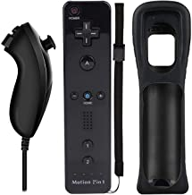 Wii Nunchuck Remote Controller with Motion Plus Compatible with Wii and Wii U Console | Wii Remote Controller with Shock F... photo