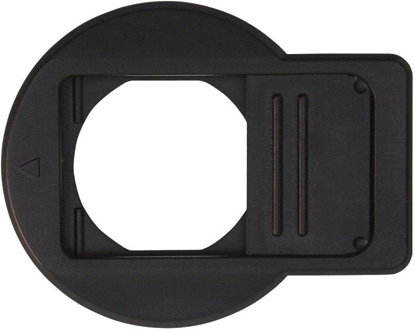ewoop Tapa de Objetivo diseñado para Olympus Tough TG1TG2/TG3/TG4/TG5 cámara Frontal Negro Tapa del Objetivo Mejor protección Lente