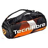 Tecnifibre Unisex-Adult AIR Endurance RACKPACK Tennnistaschen, Schwarz-Orange, M